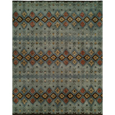 Hand-Tufted Gray/Brown Area Rug Rug size: 8 x 10