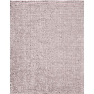 Handmade Purple Area Rug Rug Size: 6 x 9