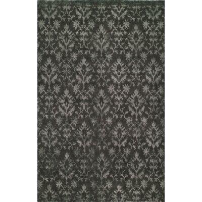 Hand-Woven Gray Area Rug Rug size: 6 x 9