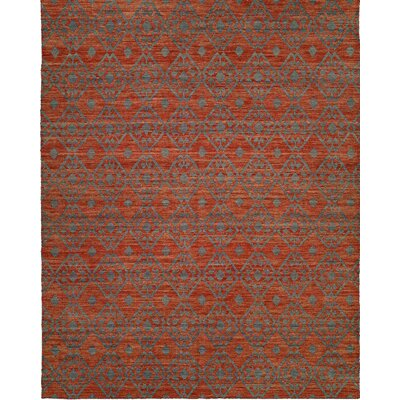 Hand-Woven Brown/Gray Area Rug Rug Size: 2 x 3