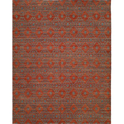 Hand-Woven Brown/Gray Area Rug Rug Size: 5 x 8