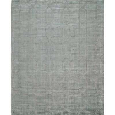 Handwoven Gray Area Rug Rug Size: 8 x 10