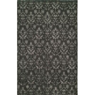 Hand-Woven Gray Area Rug Rug size: 9 x 12