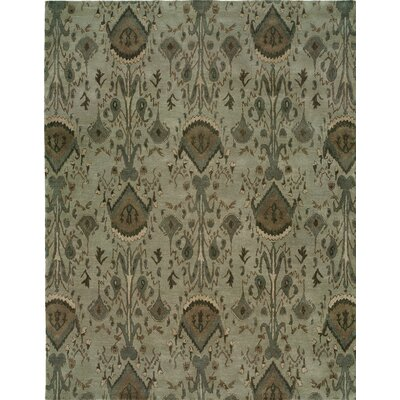 Hand-Tufted Gray Area Rug Rug size: Runner 26 x 10