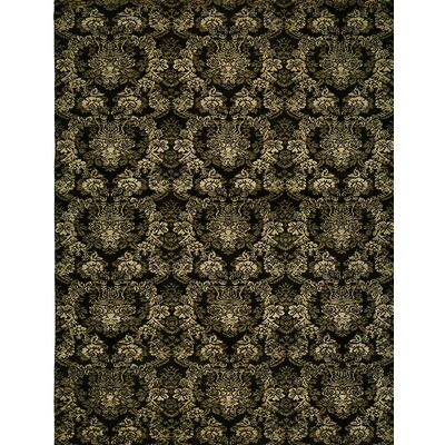 Hand-woven Black Area Rug Rug size: Runner 26 x 10