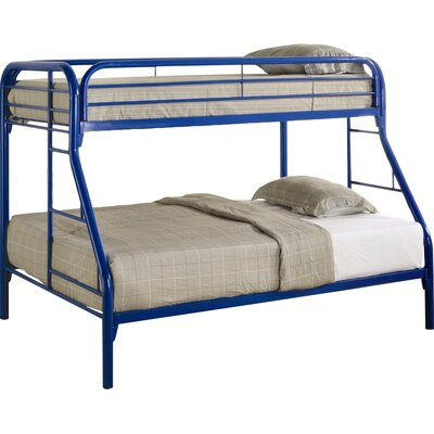 Falls City Twin over Full Bunk Bed Finish: Blue