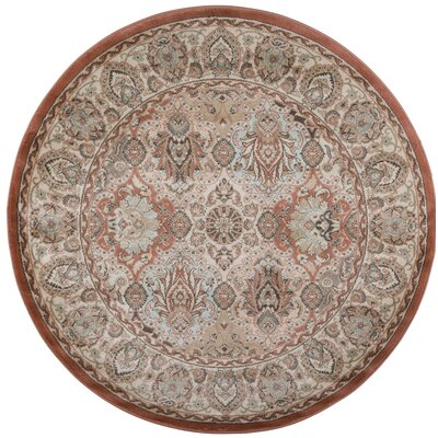Garda Terracotta Area Rug Rug Size: Rectangle 33 x 411