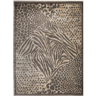 Garda Brown Area Rug Rug Size: Rectangle 710 x 106