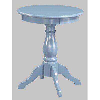 Victorian End Table Color: Blue