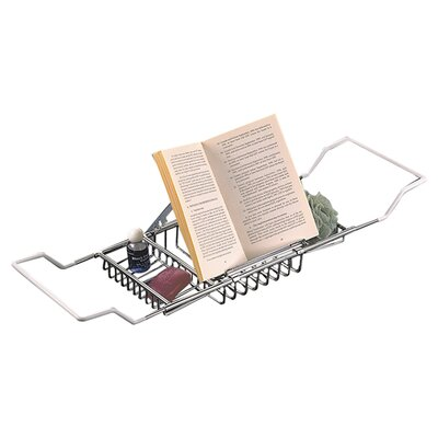 Reading Rack Bath Caddy Finish: Chrome