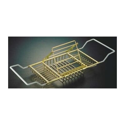 Reading Rack Bath Caddy Finish: Polished Brass