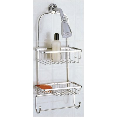 Jumbo Shower Caddy Finish: Chrome