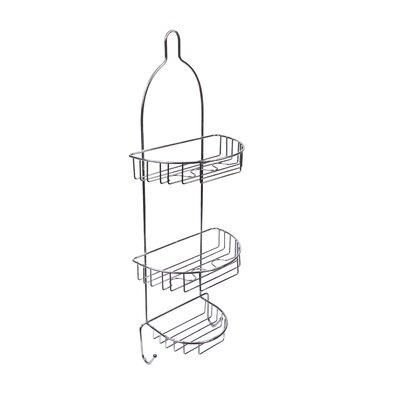 Three Basket Shower Caddy Finish: Chrome