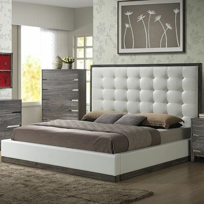 Dilworth Upholstered Platform Bed Size: King