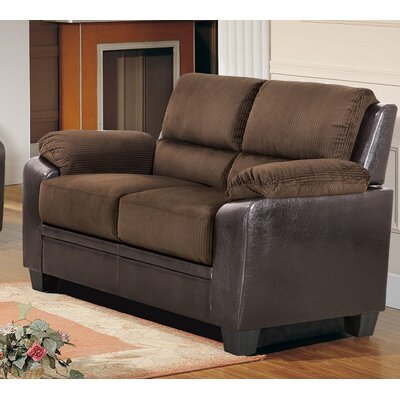Cassimere Loveseat Color: Chocolate