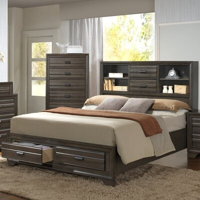Lane Storage Platform Bed Size: King
