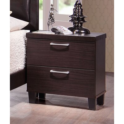 Carpendale 2 Drawer Nightstand