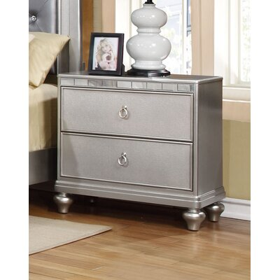 Bremerton 2 Drawer Nightstand