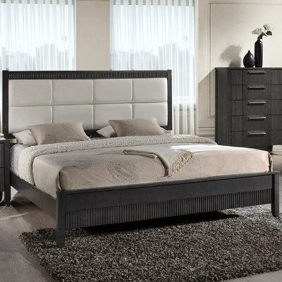 Coppin Upholstered Platform Bed Size: King