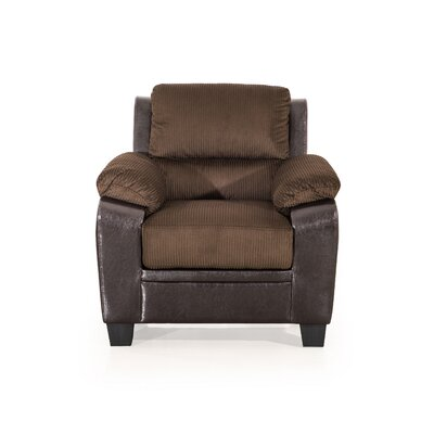 Cassimere Glider Armchair Color: Chocolate
