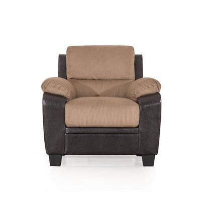 Cassimere Glider Armchair Color: Mocha