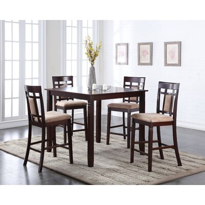 Belmont 5 Piece Counter Height Dining Set