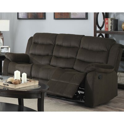 Candice Glider Recliner Color: Brown