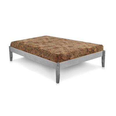 Platform Bed Size: Full, Color: Rustic Grey
