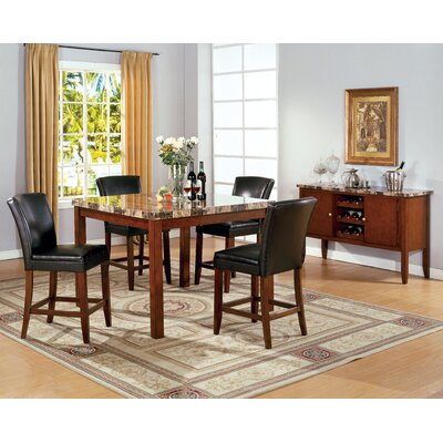 Buy low price wildon home mirage 5 piece counter height for Wildon home dining