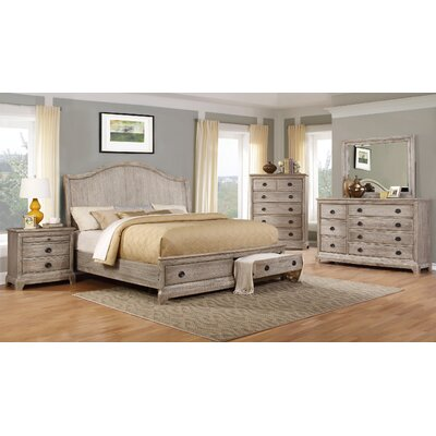 Ennis Platform Customizable Bedroom Set