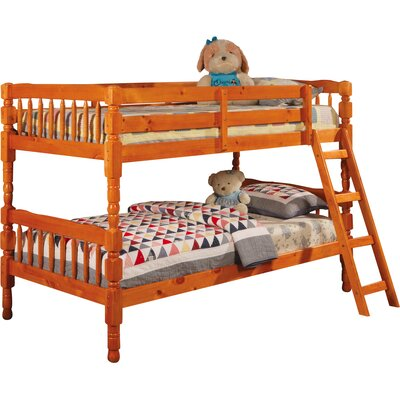 Seattle Twin Bunk Bed Finish: Pine
