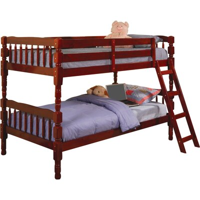 Seattle Twin Bunk Bed Finish: Cherry