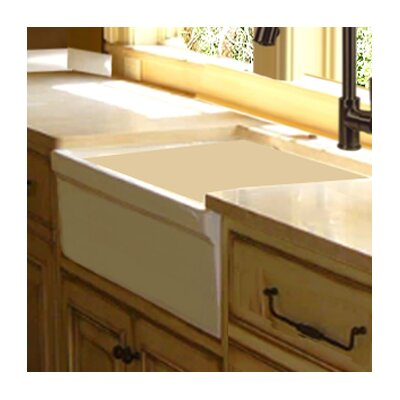 29.5 x 19.5 Italian Farmhouse Fireclay Kitchen Sink