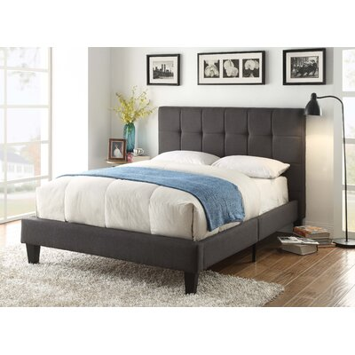Benjamin Upholstered Platform Bed Size: Queen