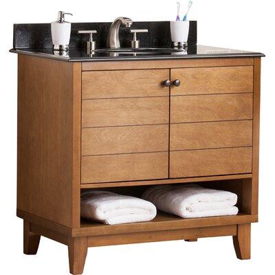 Reading 34 Single Bath Vanity Sink with Granite Top