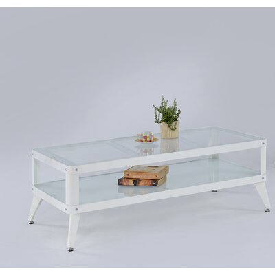 Emanuel Coffee Table Color: White