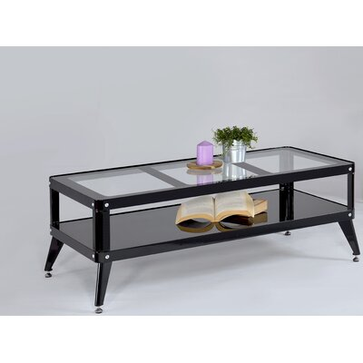Emanuel Coffee Table Color: Black
