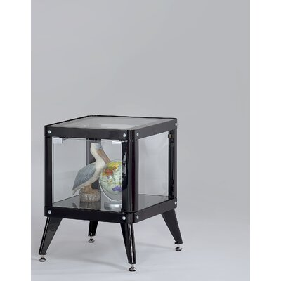 Drew End Table Color: Black