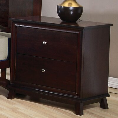 Bad credit financing 2 Drawer Nightstand...