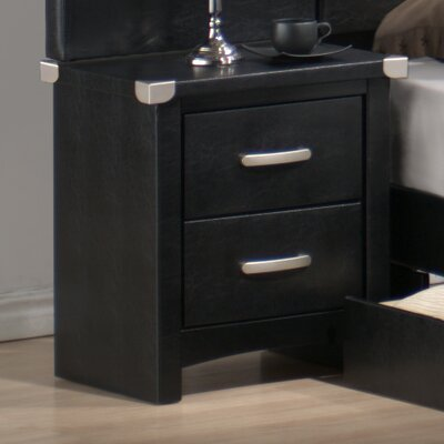 Furniture rental 2 Drawer Nightstand...
