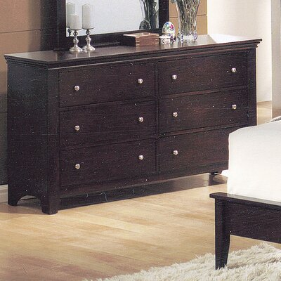 Easy furniture financing 6 Drawer Dresser...