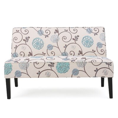 Wildon Home CST46351 31796993 Walther Floral Loveseat