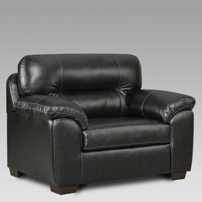 Rainsburg Oversize Chair and a Half Upholstery: Black