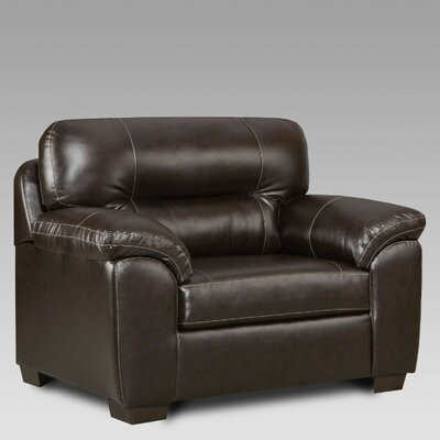 Rainsburg Oversize Chair and a Half Upholstery: Chocolate