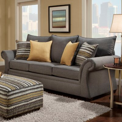 Milner Sofa Finish: Gray