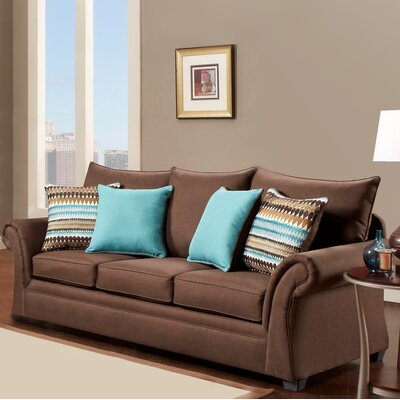 Blair Sofa Finish: Cocoa