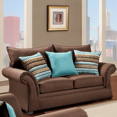 Blair Loveseat Finish: Cocoa