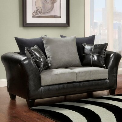 Ketterman Loveseat Finish: Gray