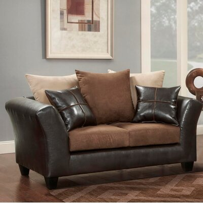 Ketterman Loveseat Finish: Chocolate
