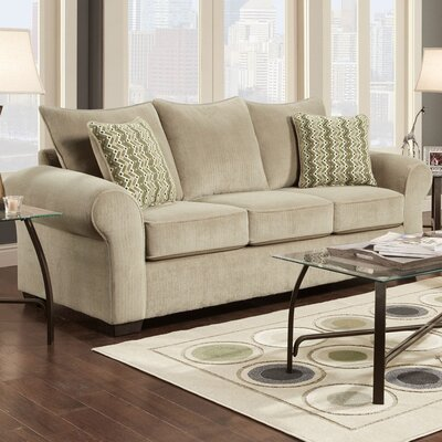 Carrie Sofa Finish: Seal Taupe
